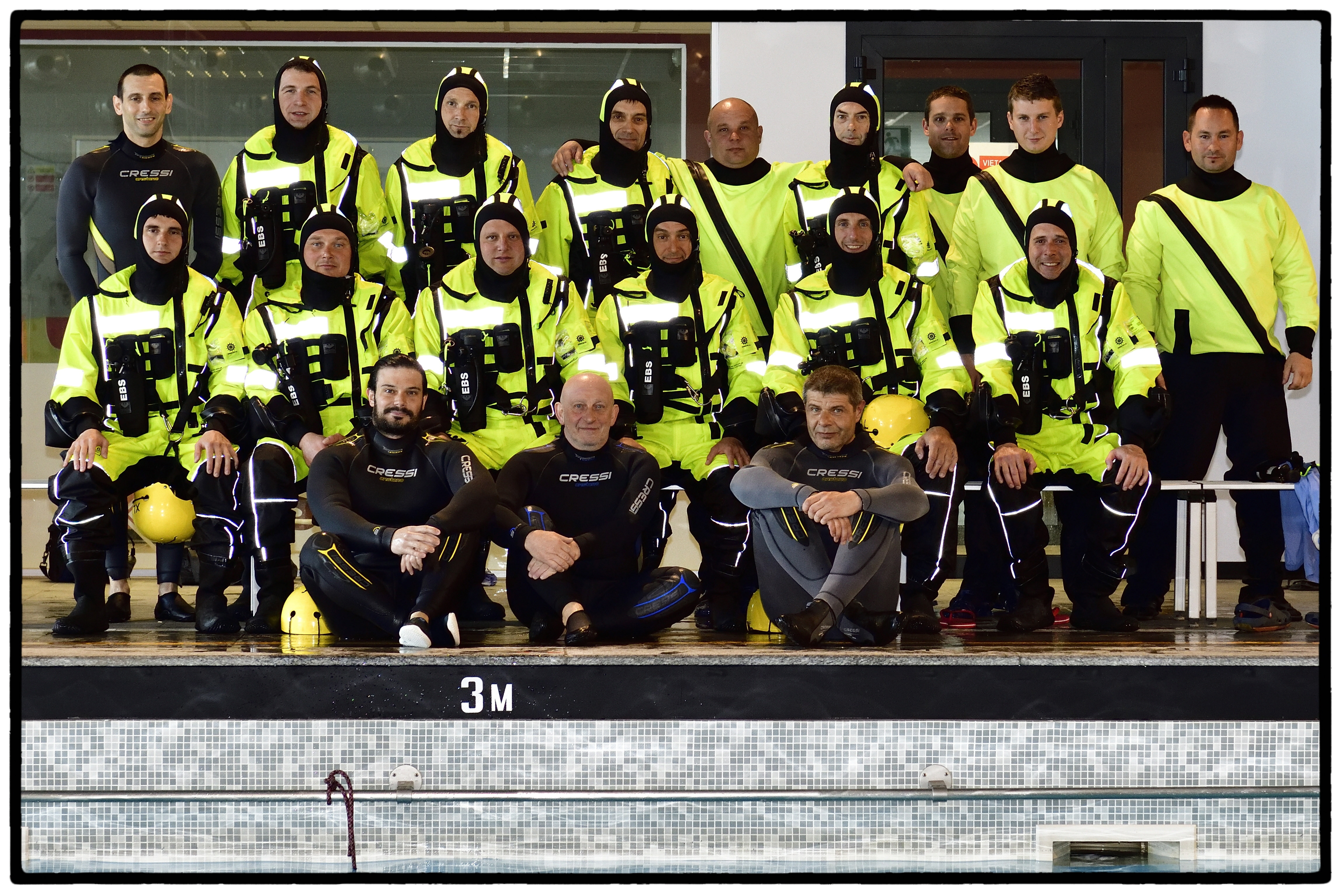 Image - Sea Suvival and Helodunker trainings in Pavia