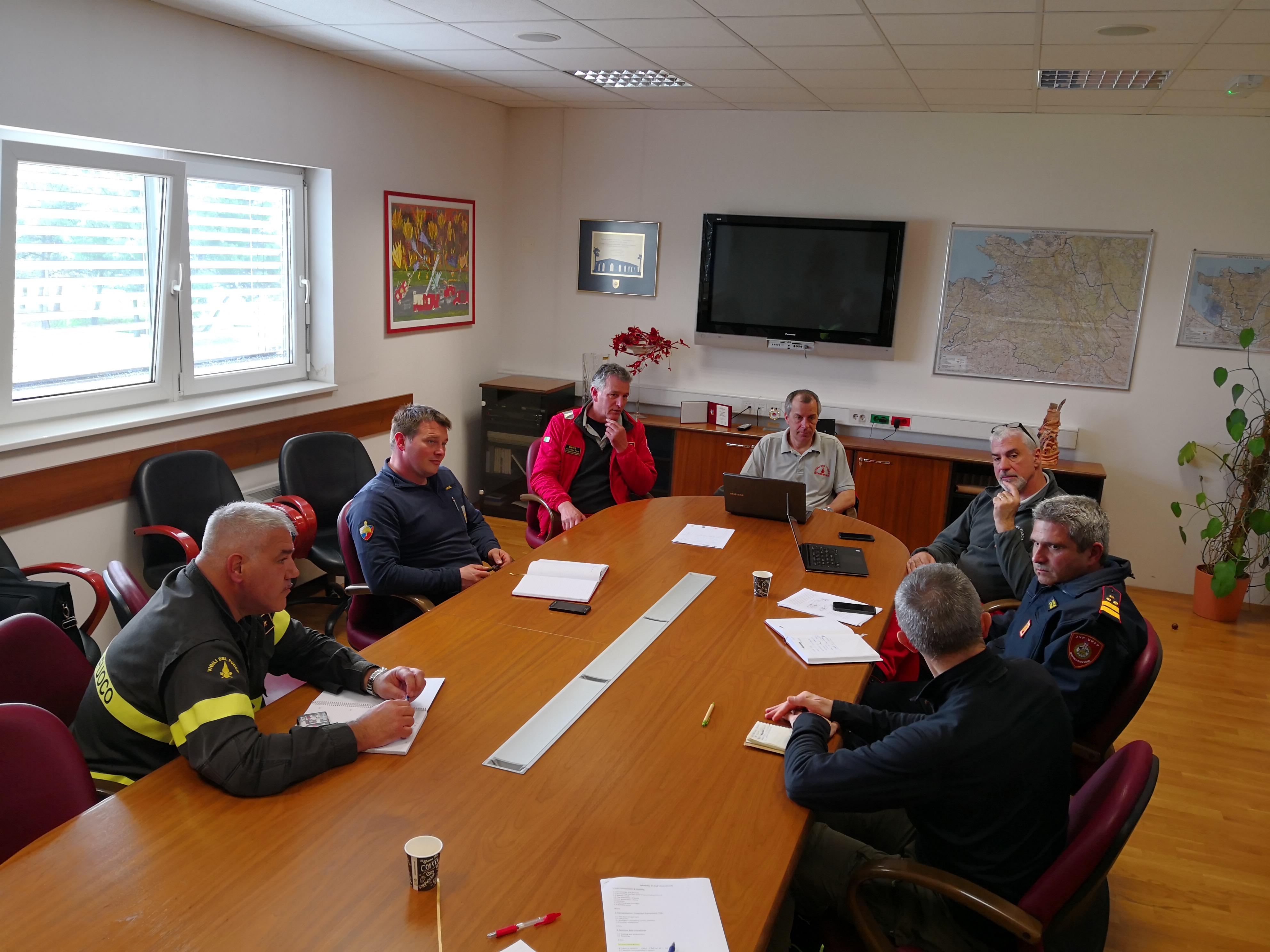 Image - Technical meeting in Koper