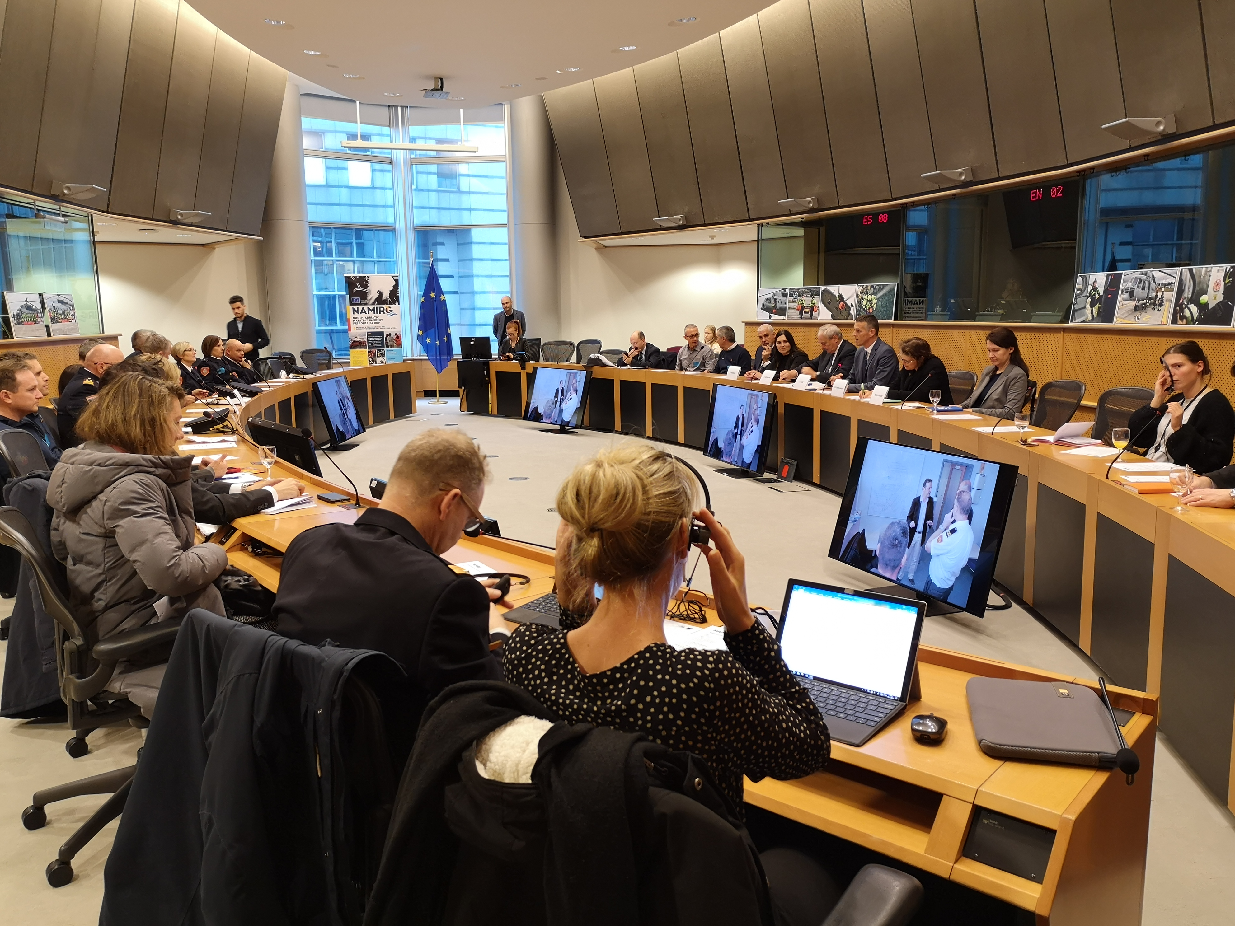 Image - Promotion of NAMIRG at the European Parliament