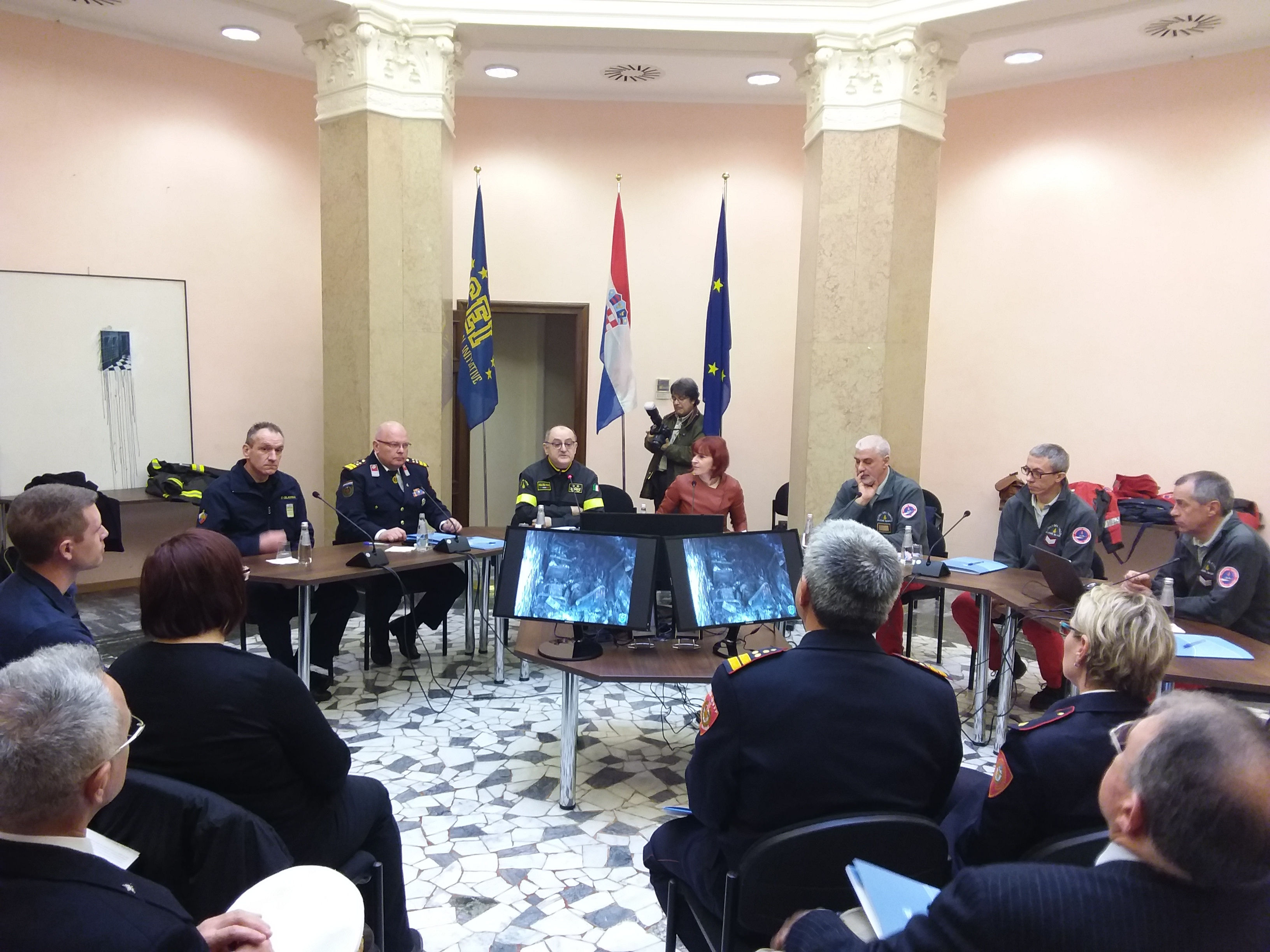Image - NAMIRG, a cross-border model for safety in Northern Adriatic Sea, Press conference held in Trieste